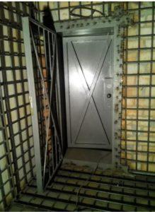 оружейная комната хранения оружия и патронов